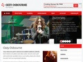 web Ozzy Osbourne a Black Sabbath