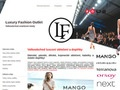 web Luxury fashion outlet